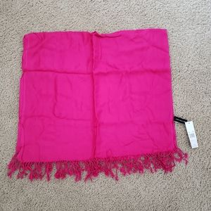Jones New York Fushia Flame scarf